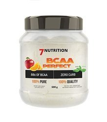 7Nutrition BCAA Perfect 500 g DATA 10/2021