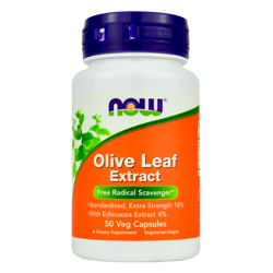 NOW Foods Olive Leaf Extract 50 vcaps
